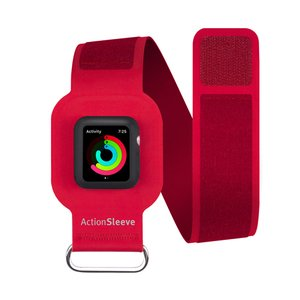(*) Twelve South ActionSleeve Armband for 38mm Apple Watch - Red