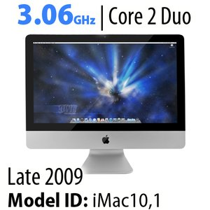 "Apple 21.5"" iMac (2009) 3.06GHz Core 2 Duo: 8GB RAM, 1.0TB HDD, SuperDrive, Used"