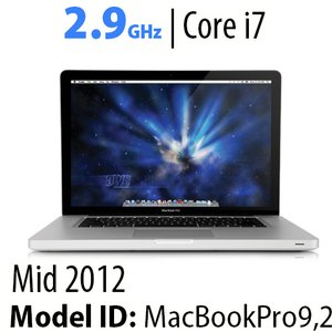 "Apple 13"" MacBook Pro (2012) 2.9GHz Core i7: Thunderbolt, 8GB RAM, 750GB HDD, SuperDrive, Used"