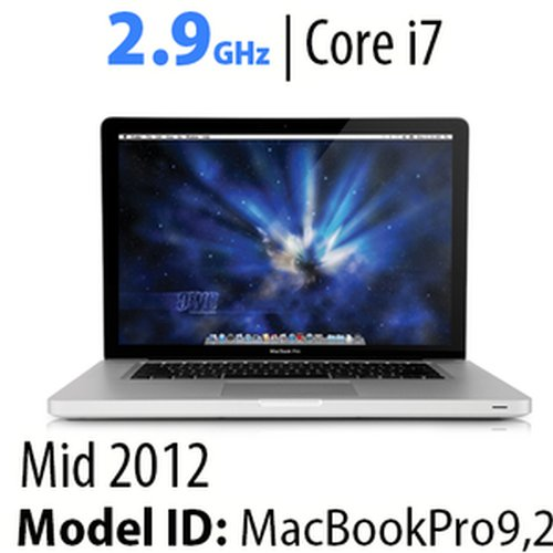 "Apple 13"" MacBook Pro (2012) 2.9GHz Core i7: Thunderbolt, 16GB RAM, 480GB HDD, SuperDrive, Used"
