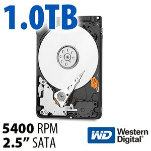 1.0TB WD Blue 2.5-inch 7mm SATA 6.0Gb/s 5400RPM Hard Drive