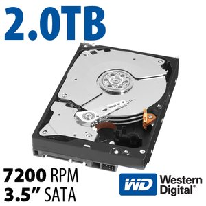 (*) 2.0TB WD RE4 'RAID Edition' 3.5-inch SATA 3.0Gb/s 7200RPM Enterprise Class Hard Drive