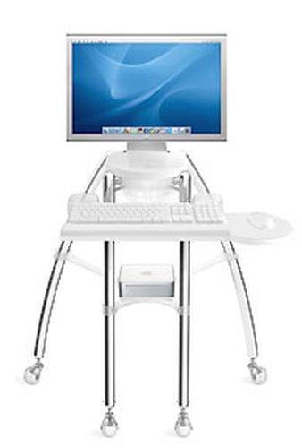 "Rain Design iGo Stand for iMac 24"" or Thunderbolt Display 24"" - Sitting Model"