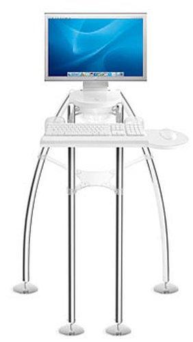 "Rain Design iGo stand for iMac 24"" or Thunderbolt Display - Standing Model"