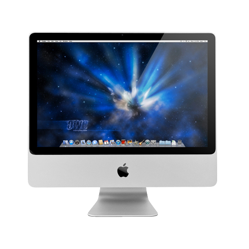 "Apple 20"" iMac (2007) 2.4GHz Core 2 Duo - Used, Excellent condition, Defective Speakers"