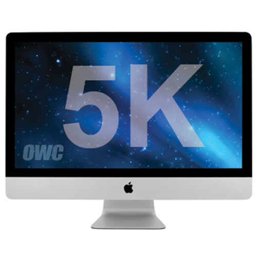 "Apple 27"" iMac Retina 5K (2017) 3.8GHz Quad Core i5 - Apple Refurbished, Open Box, Incl KB/Mouse"