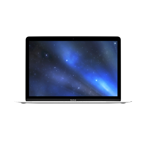 "Apple 12"" MacBook Retina (Current Model) 1.3GHz Dual Core i5, Silver - Apple Refurbished, Factory Sealed"