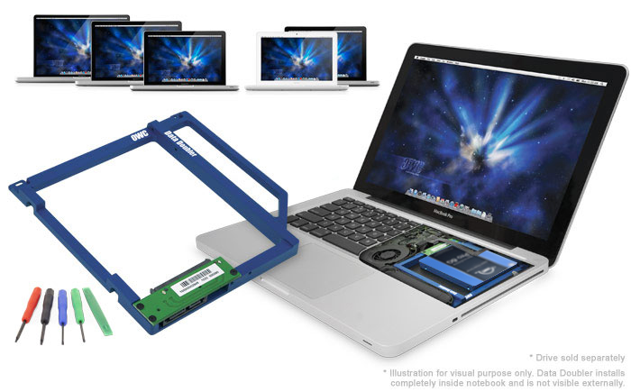 OWC Data Doubler Get 2 Drives In Your MacBook Pro