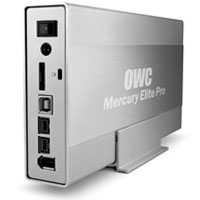 Mercury Elite-AL Pro 'Quad Interface'  FireWire 800/400/USB 2.0/eSATA Connectivity