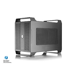 AKiTiO Node Duo Thunderbolt 3 PCIe Expansion Chassis for 2 x PCIe Cards   Includes Thunderbolt 3 cable