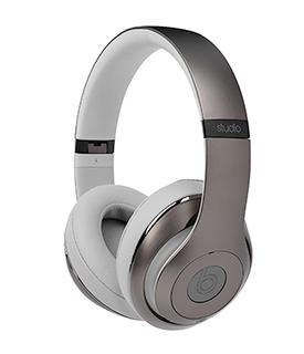 Apple Beats Studio2 Wireless Headphones Metallic Sky