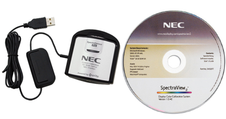 NEC Multisync includes