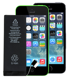 Battery for Apple iPhone 5S and 5C