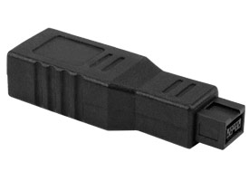 NewerTech FireWire 9-pin (FW800) to 6-pin (FW400) Adapter