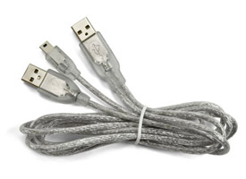 OWC Y-Type Dual USB 2.0 to Mini B Cable