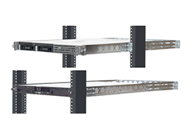 1U Rack Mount Rail For Relay (2 Post) Racks