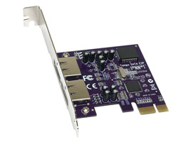 Tempo SATA E2P 2 Port 3Gb/s eSATA PCI Express Host Adapter