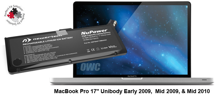 103 Watt-Hour NewerTech NuPower Battery