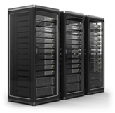 works in racks, sub systems, servers or workstations