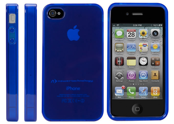 NewerTech NuGuard Gel Case for all iPhone 4/4S... at ...