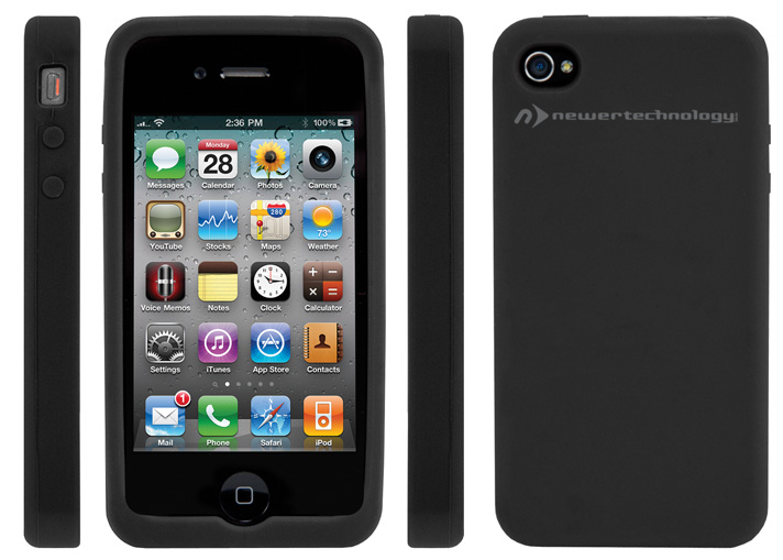 NuGuard Silicone Case for iPhone 4