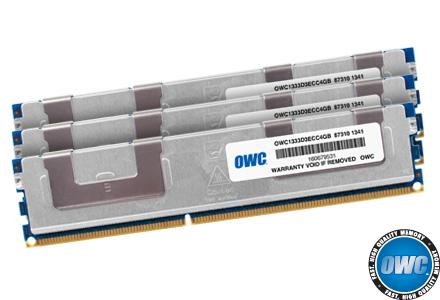 16GB OWC DDR3 1333MHz ECC Upgrade Kit Mac Pro 8-and Quad-core Xeon systems 4x4GB
