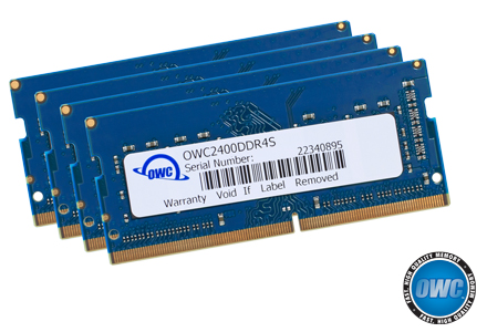 OWC 32GB 4 x 8GB 2400MHZ DDR4 SO-DIMM PC4-19200 Memory Upgrade for 2017 iMac 27 inch with Retina 5K Display