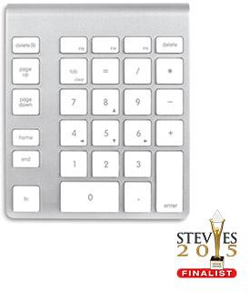7641527834e Wireless Aluminum Numeric Keypad For Apple Computers