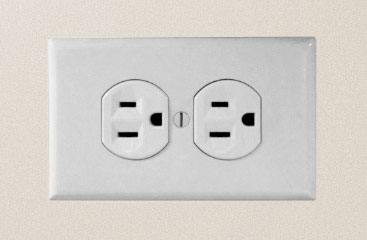Standard dual socket outlet