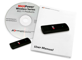 MAXPower 802.11g/b USB Adapter includes
