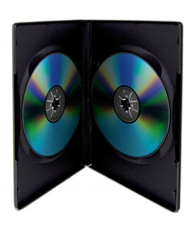 CD/DVD Case  Dual Disc Capacity