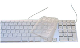 OWC Clear Skin Protector for Apple Aluminum Keyboard
