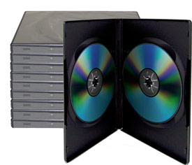 OWC Package of 10 CD/DVD Cases