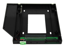 2.5 inch IDE/ATA Hard Drive to ATAPI Optical Bay Adapter