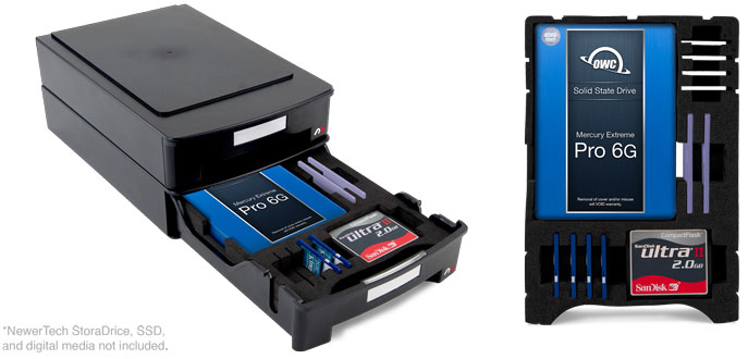 NewerTech Media Storage Tray