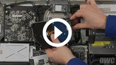 Eind 2009 21,5-inch iMac Hard Drive Video installeren