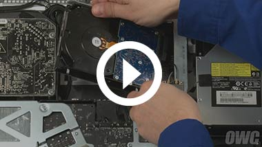 Mid 2010 21.5-inch iMac Hard Drive Install Video