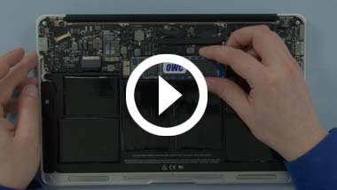 SSD Installeer video voor 2010 11-inch MacBook Air