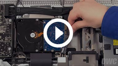 Mid 2011 27-inch iMac Hard Drive Install Video