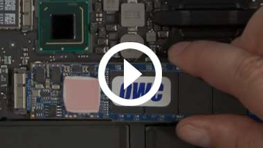 SSD Video installeren voor 2011 13-inch MacBook Air