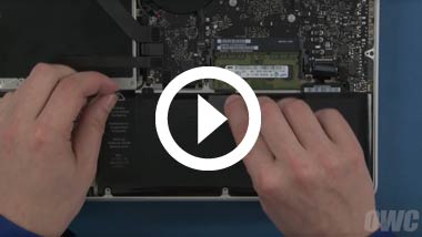 Mid 2011 13-inch MacBook Pro Battery Install Video