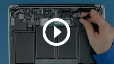 SSD Install Video for 2012 13-inch MacBook Air