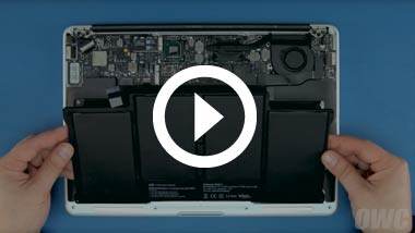Mid 2012 13-inch MacBook Pro Battery Install Video