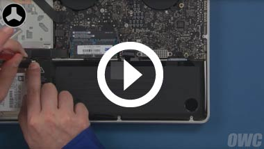 Mid 2012 15-inch MacBook Pro Battery Install Video