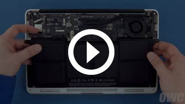 Battery Install for Mid 2013, Early 2014 13-inch MacBook Air