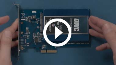 SSD Install Video for OWC Accelsior S