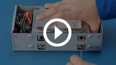 Step-by-step video of how to install two SATA 3.5-inch hard drives in an OWC Mercury Elite Pro Dual Enclosure.